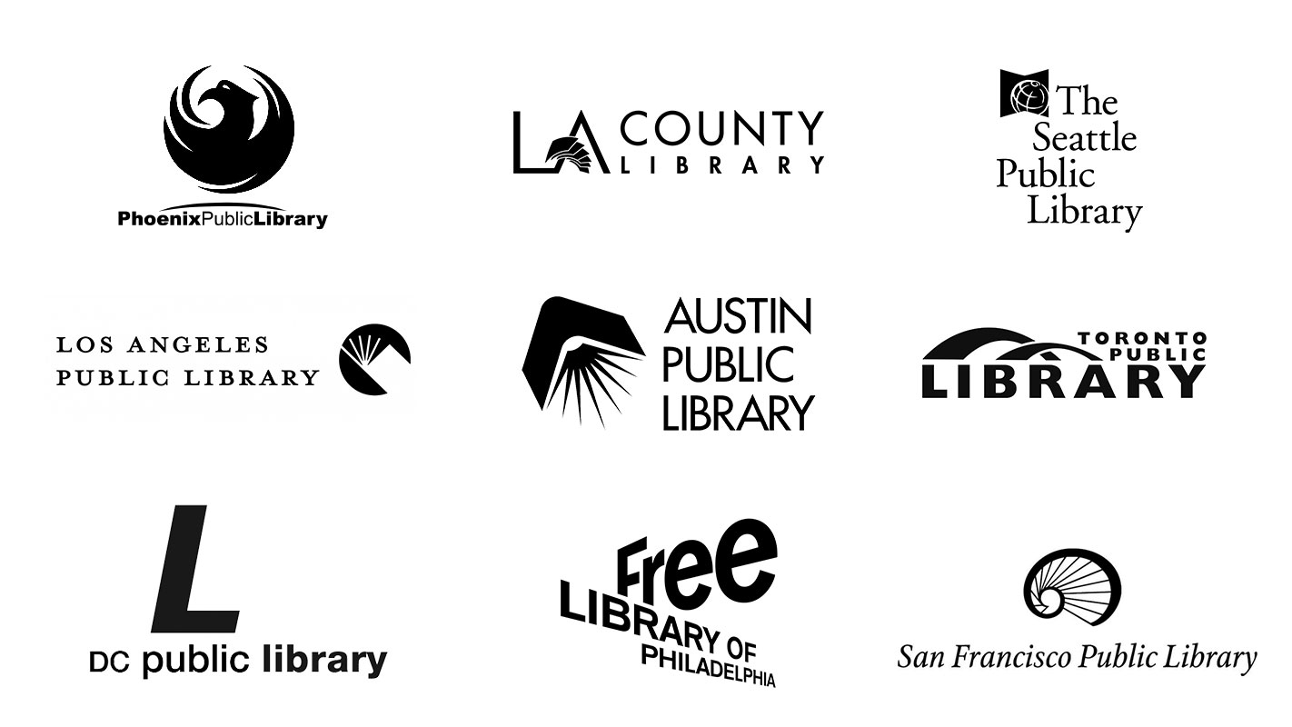 Public libraries currently served